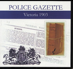 Victoria Police Gazette 1903