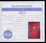 Queensland Post Office Directory 1911 (Wise)