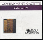 Victorian Government Gazette 1891