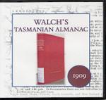 Walch's Tasmanian Almanac 1909