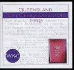 Queensland Post Office Directory 1912 (Wise)
