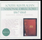 National Directory of South Australia 1867-68 (Butler)