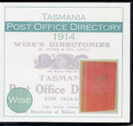 Tasmania Post Office Directory 1914 (Wise)
