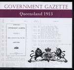Queensland Government Gazette 1913