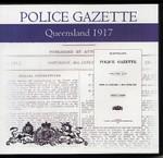 Queensland Police Gazette 1917