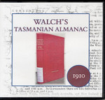 Walch's Tasmanian Almanac 1910