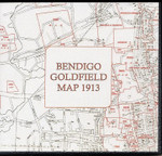 Bendigo Goldfield Map 1913