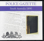 South Australian Police Gazette 1890