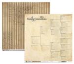 Bazzill Basics 12x12 Heritage Generation Chart