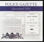 Queensland Police Gazette 1918