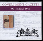 Queensland Government Gazette 1916