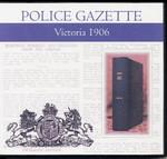 Victoria Police Gazette 1906