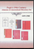Pugh's Almanac and Queensland Directory 19th Century Set 1859-1900