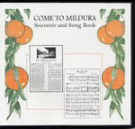 Come to Mildura: Souvenir and Song Book