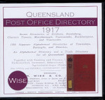 Queensland Post Office Directory 1917 (Wise)