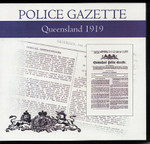 Queensland Police Gazette 1919