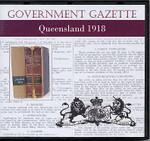 Queensland Government Gazette 1918