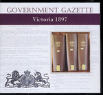 Victorian Government Gazette 1897