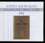 South Australian Telephone Directory 1914