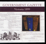Victorian Government Gazette 1899