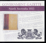South Australian Government Gazette 1855