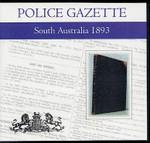 South Australian Police Gazette 1893