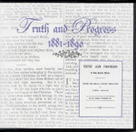 Truth and Progress 1881-1890
