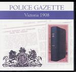 Victoria Police Gazette 1908