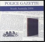 South Australian Police Gazette 1894