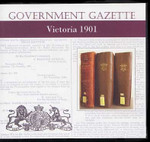 Victorian Government Gazette 1901
