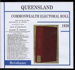 Queensland Commonwealth Electoral Roll 1939 Brisbane