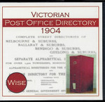Victorian Post Office Directory 1904 (Wise)