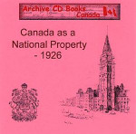 Canada as a National Property, 1926