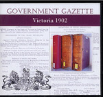 Victorian Government Gazette 1902