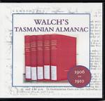 Walch's Tasmanian Almanac Compendium 1906-1910