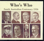 Who's Who: South Australian Centenary 1936