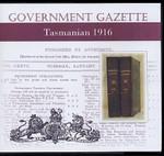 Tasmanian Government Gazette 1916