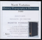North Yorkshire 1890 Bulmer's History, Topography and Directory Part 2