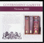 Victorian Government Gazette 1855