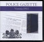 Victoria Police Gazette 1911