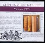 Victorian Government Gazette 1903