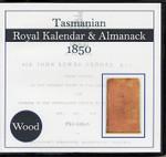 Tasmanian Royal Kalendar and Almanack 1850 (Wood)