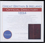 Thom's Official Directory of Great Britain and Ireland 1894