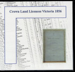 Crown Land Licences Victoria 1856