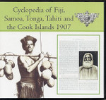 The Cyclopedia of Fiji, Samoa, Tonga, Tahiti and the Cook Islands 1907