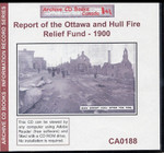 Report of the Ottawa and Hull Fire Relief Fund