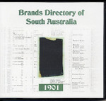 Brands Directory of South Australia 1901