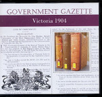 Victorian Government Gazette 1904