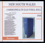 New South Wales Commonwealth Electoral 1946 Barton 1