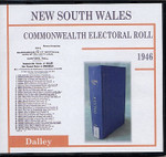 New South Wales Commonwealth Electoral 1946 Dalley 1